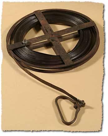 Surveyors steel tape 1880