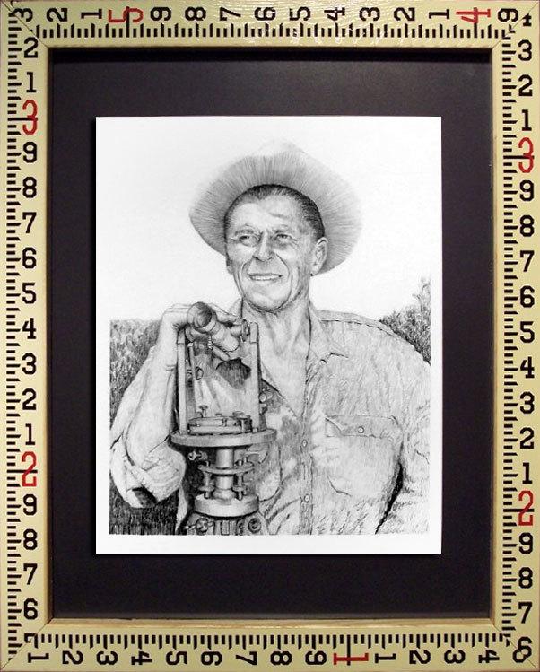 Ronald Reagan Land Surveyor