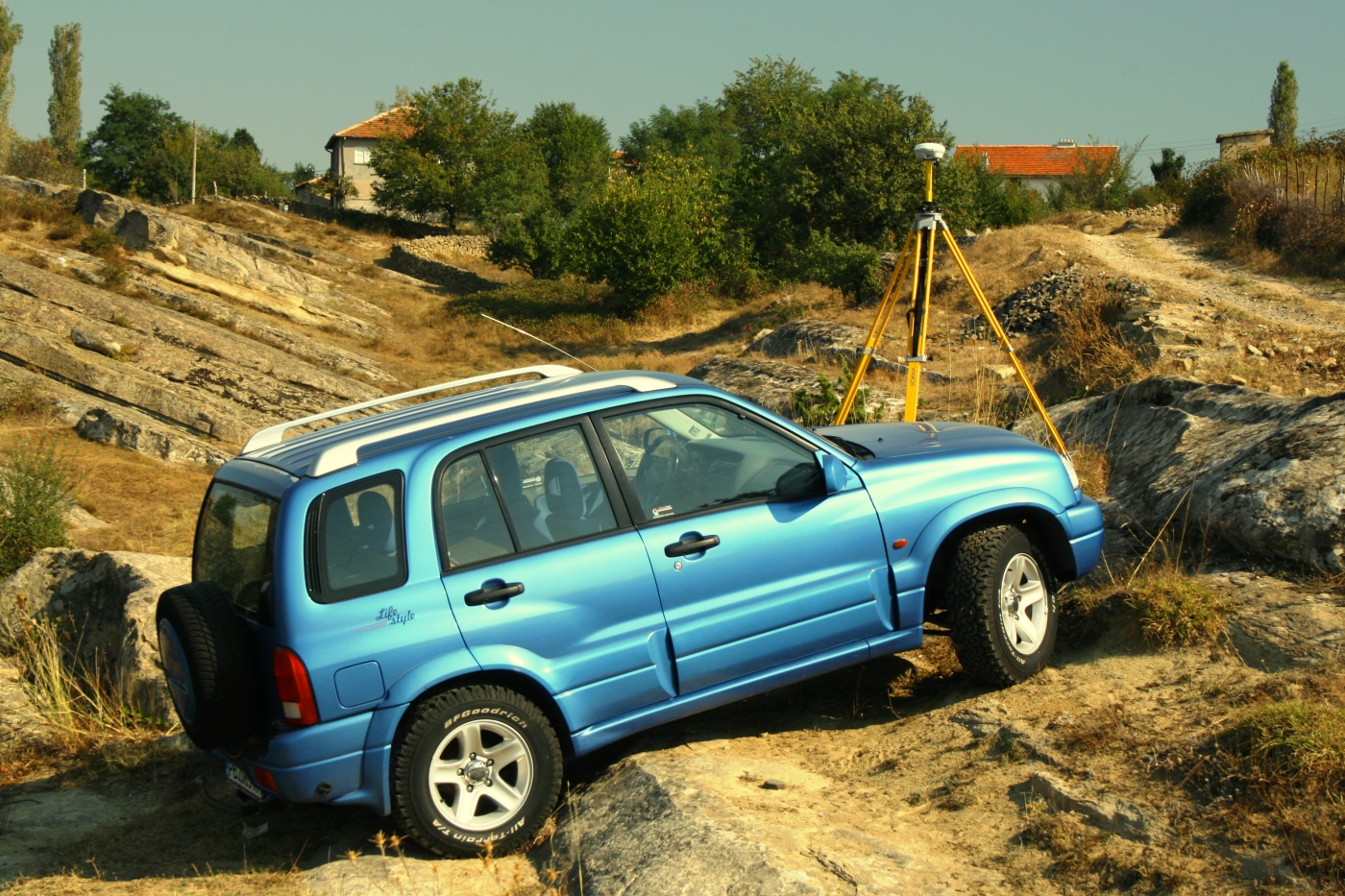 Measurements near Kardjali, Bulgaria