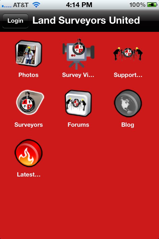 LSU mobile navigation preview