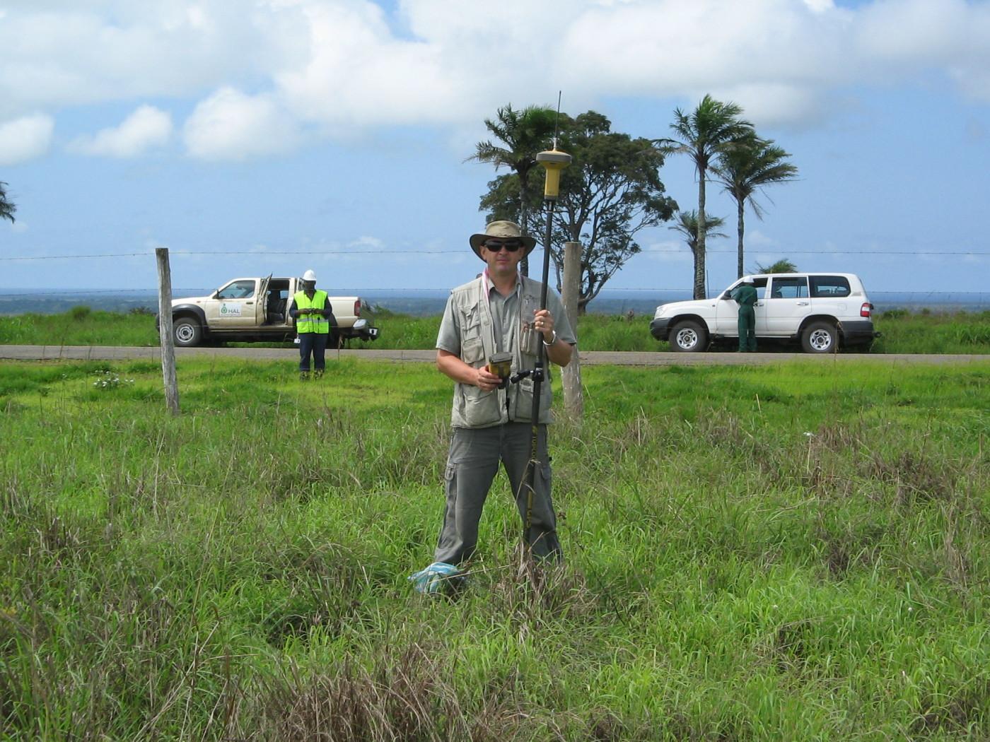 Angola-Cabinda Surveyor