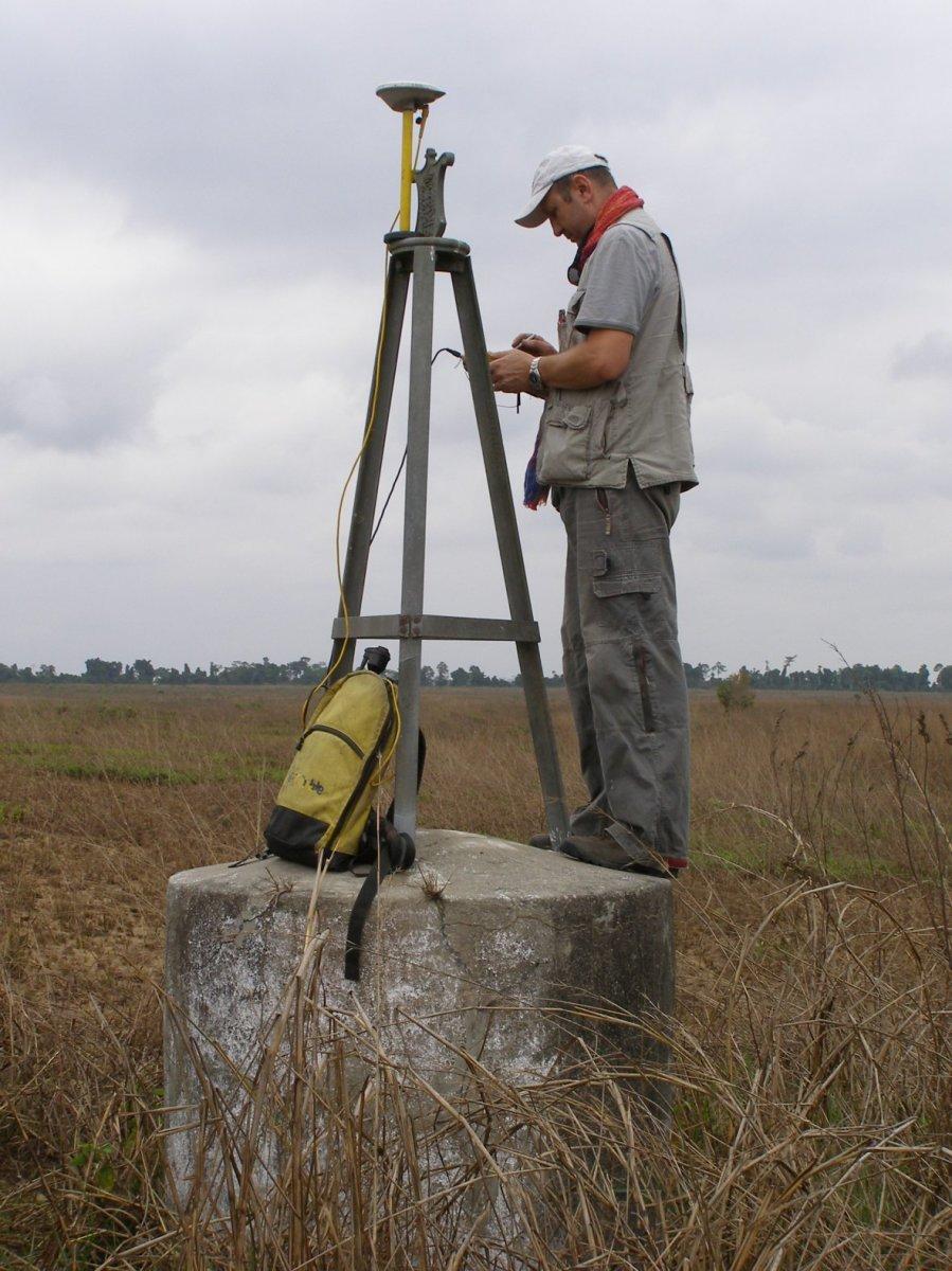Angola-DRC border beacons