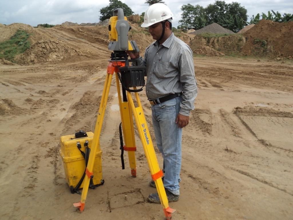 Surveying in Sonamura GGS