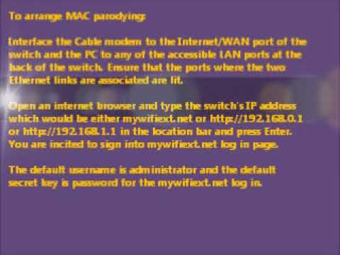 NO INTERNET WITH NEW ROUTER - MAC SPOOFING. TOLL FREE 1-855-406-0666.