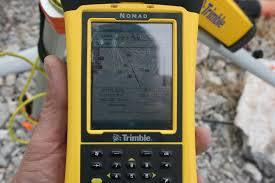 Trimble Nomad Shape Files
