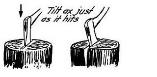 How to sharpen a bushaxe