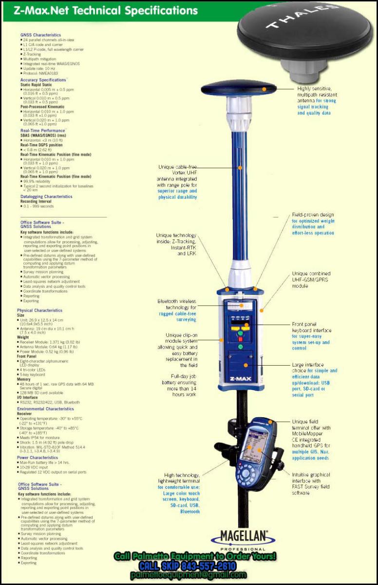 Magellan Zmax GPS