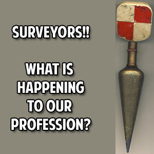 what is happening to the surveying profession