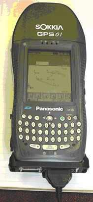Sokkia GPS01 Toughbook
