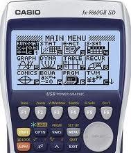 Casio 9860G manuals, guides and write a program