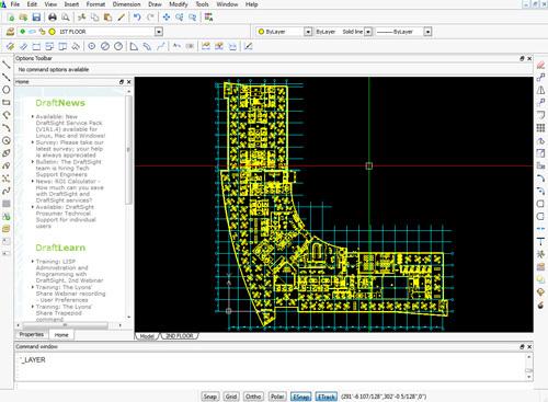 Draftsight Free CAD software