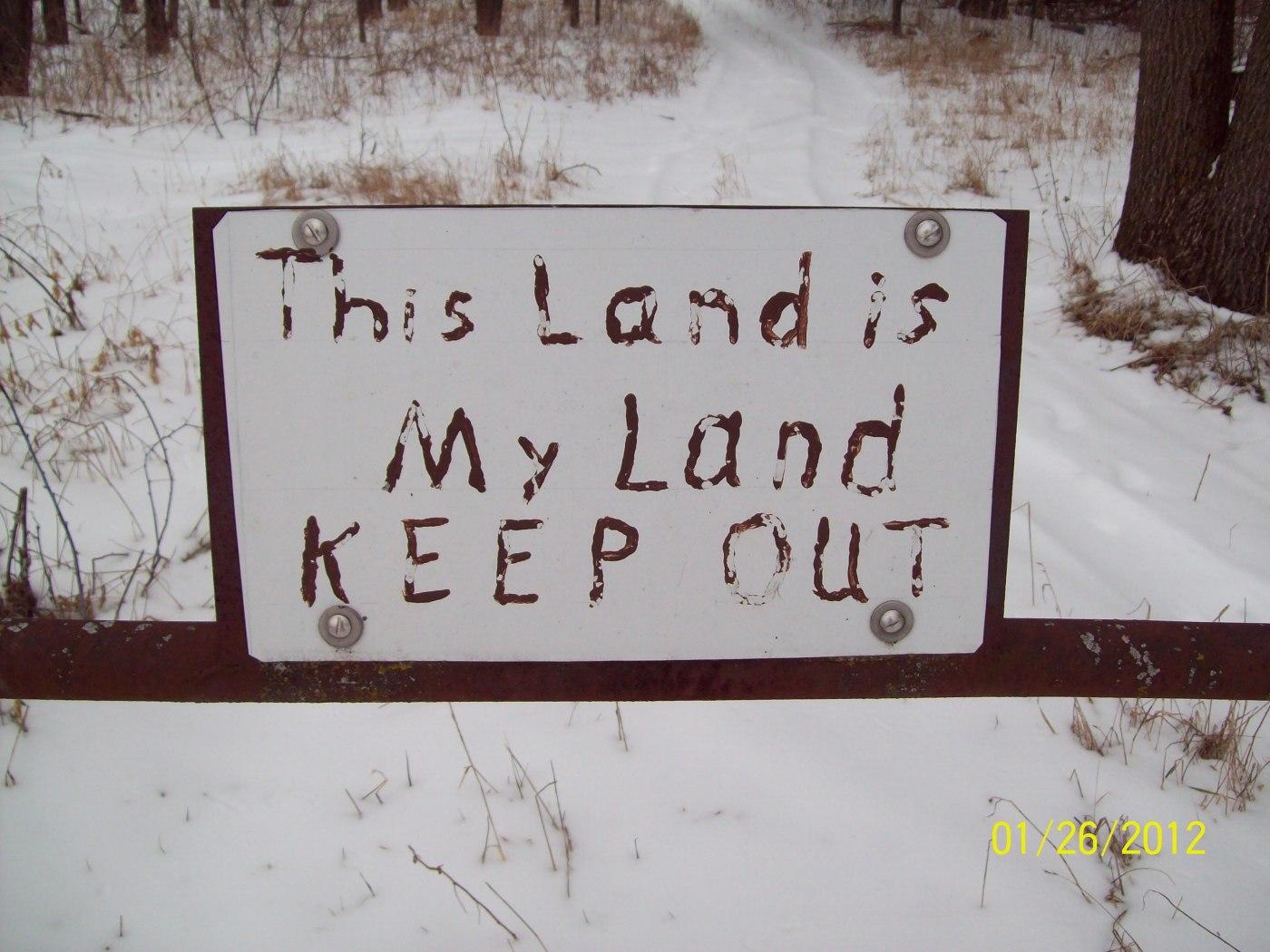Trespassing Texas Land Surveying