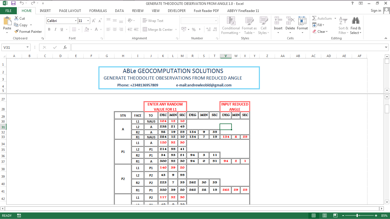 Some Excel Programs in VBA That has been very helpful