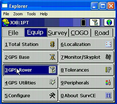 Sokkia GSR2700IS GMS modem NTRIP