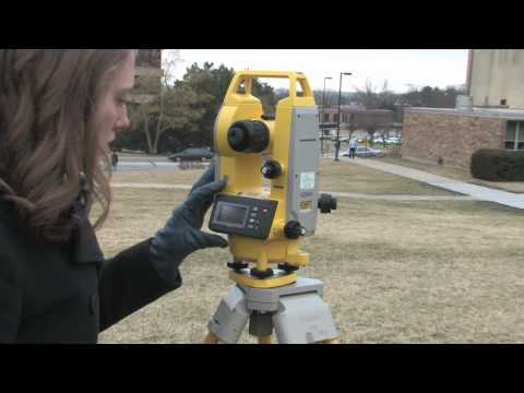 How to Use a Digital Theodolite - Part 1 of 2