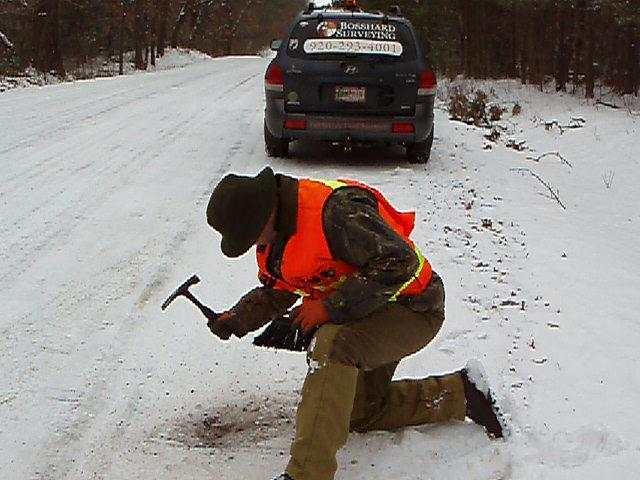 Digging for Section Corner