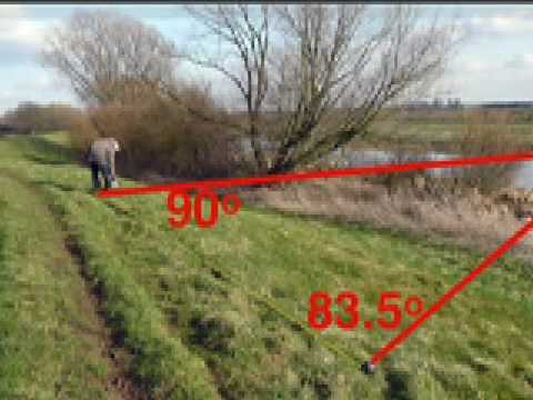 measuring distance by triangulation and parallax