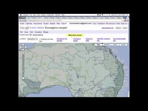 Google I/O 2011: Managing and visualizing your geospatial data with Fusion Tables