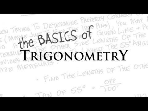 the BASICS of TRIGONOMETRY Tutorial