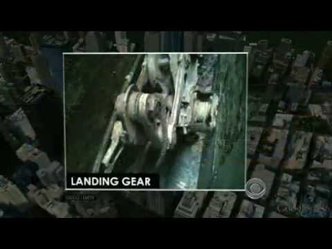 Surveyors find piece of 911 plane landing gear