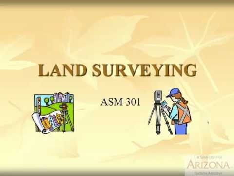 Land Surveying: PLSS - Rectangular Survey - Introduction to Differential Leveling