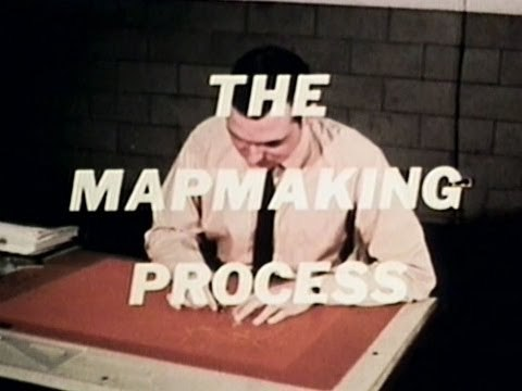 The Map Making Process - 1973 United States Army Educational Documentary - Ella73TV