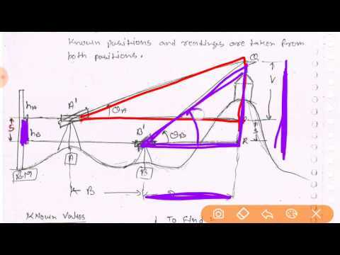 Triangulation Surveying -Lecture 17
