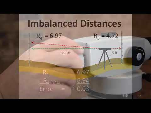 Land Surveying Part 5 Levelling Imbalanced Distances