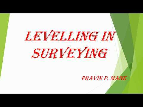 LEVELLING Concepts Explained IN SURVEYING