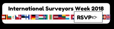 RSVP for International Surveyors Week
