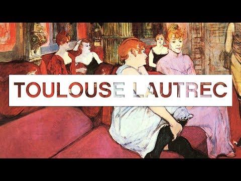 Les grands maîtres de la peinture:  Toulouse-Lautrec - Toute L'Histoire