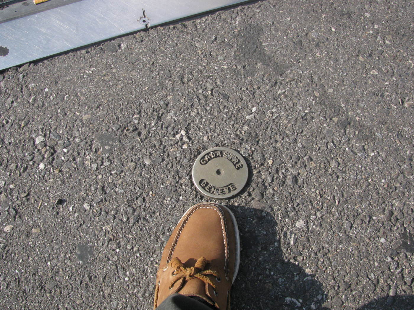 Survey Marker, Geneva, Switzerland