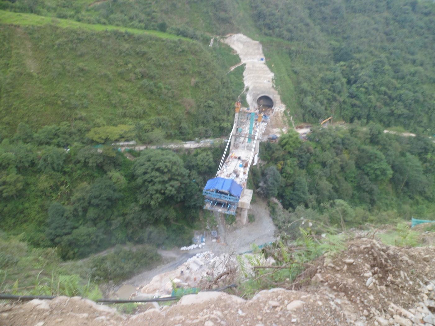 Upper view bridge N°10