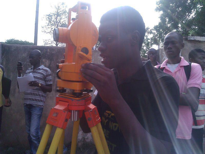 Surveying Ghana