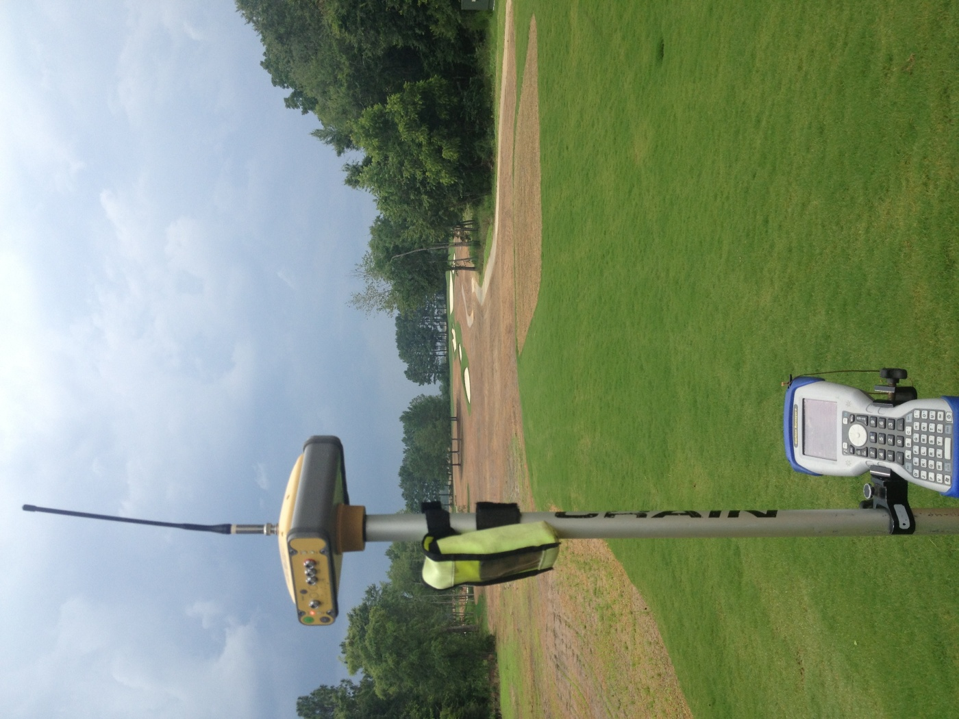 Location work on a new golf course in SE Georgia
