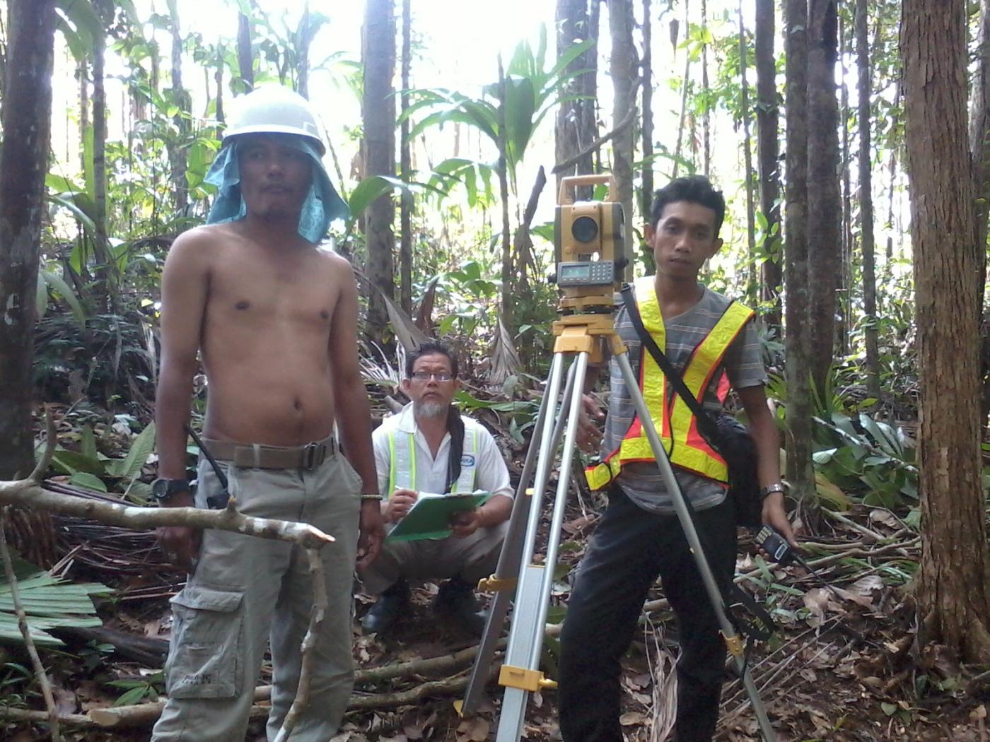 Topgraphic survey wayafli townsite