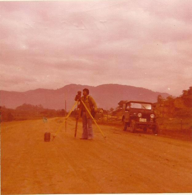 my father, PAIM, 1977.