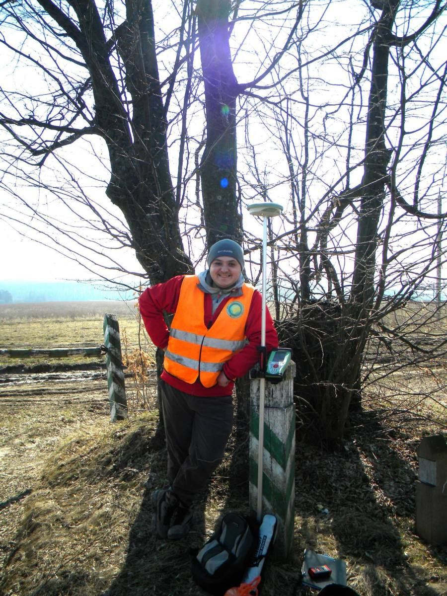 Surveying forests in Ukraine