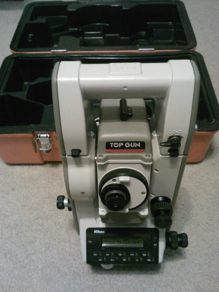 TOPGUN NIKON DTM A20LG TOTAL STATION - Land Surveying Photos - Land