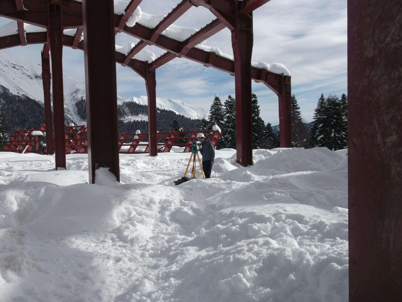 Snow Show Surveying