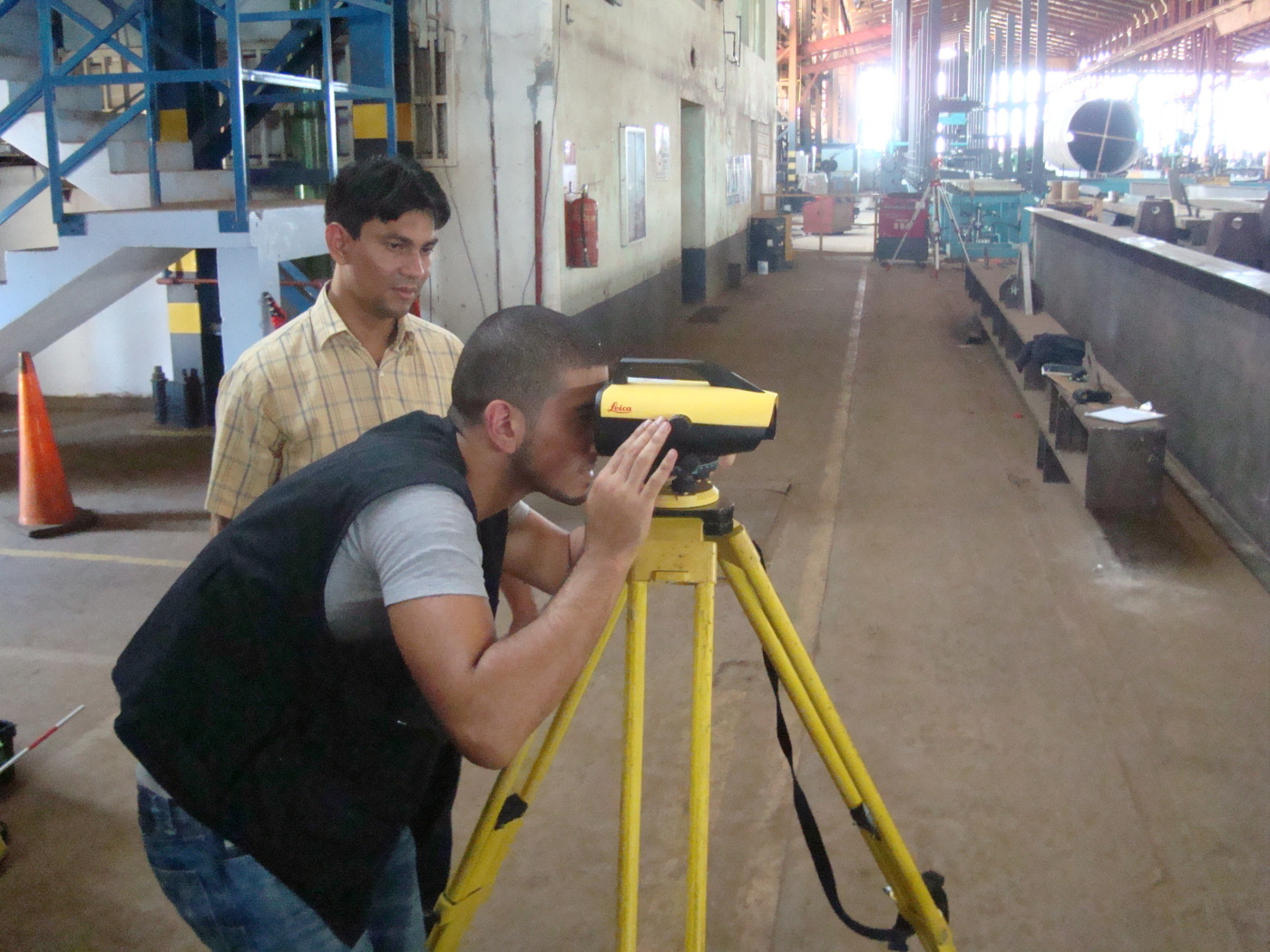 TRAINING ENGINEERS IN THE FASCINATING ART OF SURVEYING. PART 7