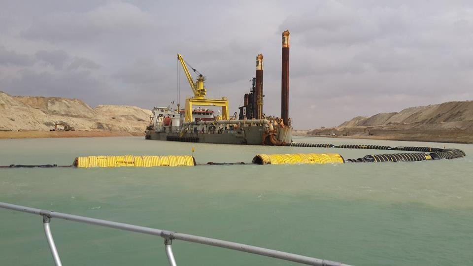 New Suez Canal In Egypt