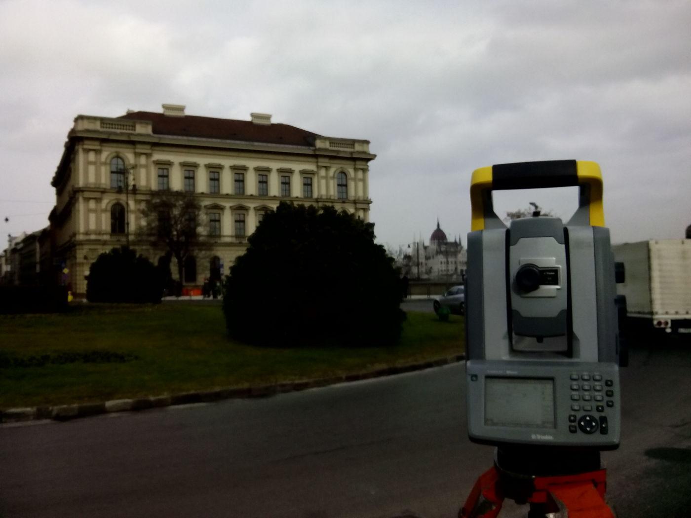 Trimble Surveying in Hungary