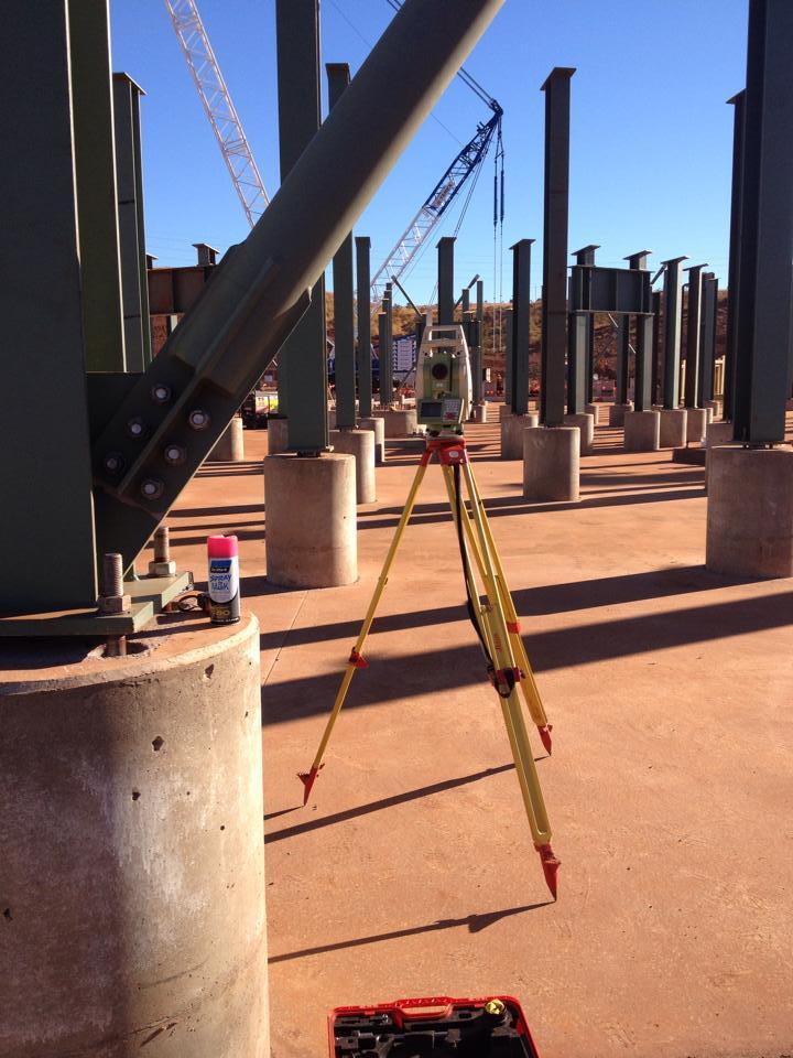 Surveying Columns Verts