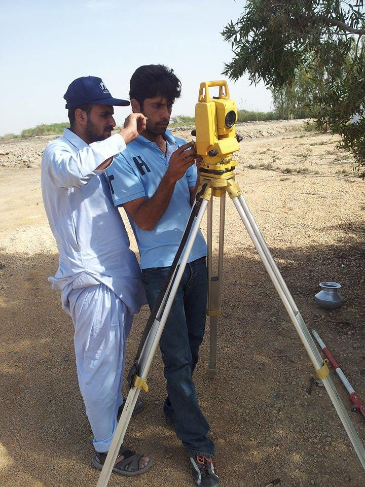 land survey experience
