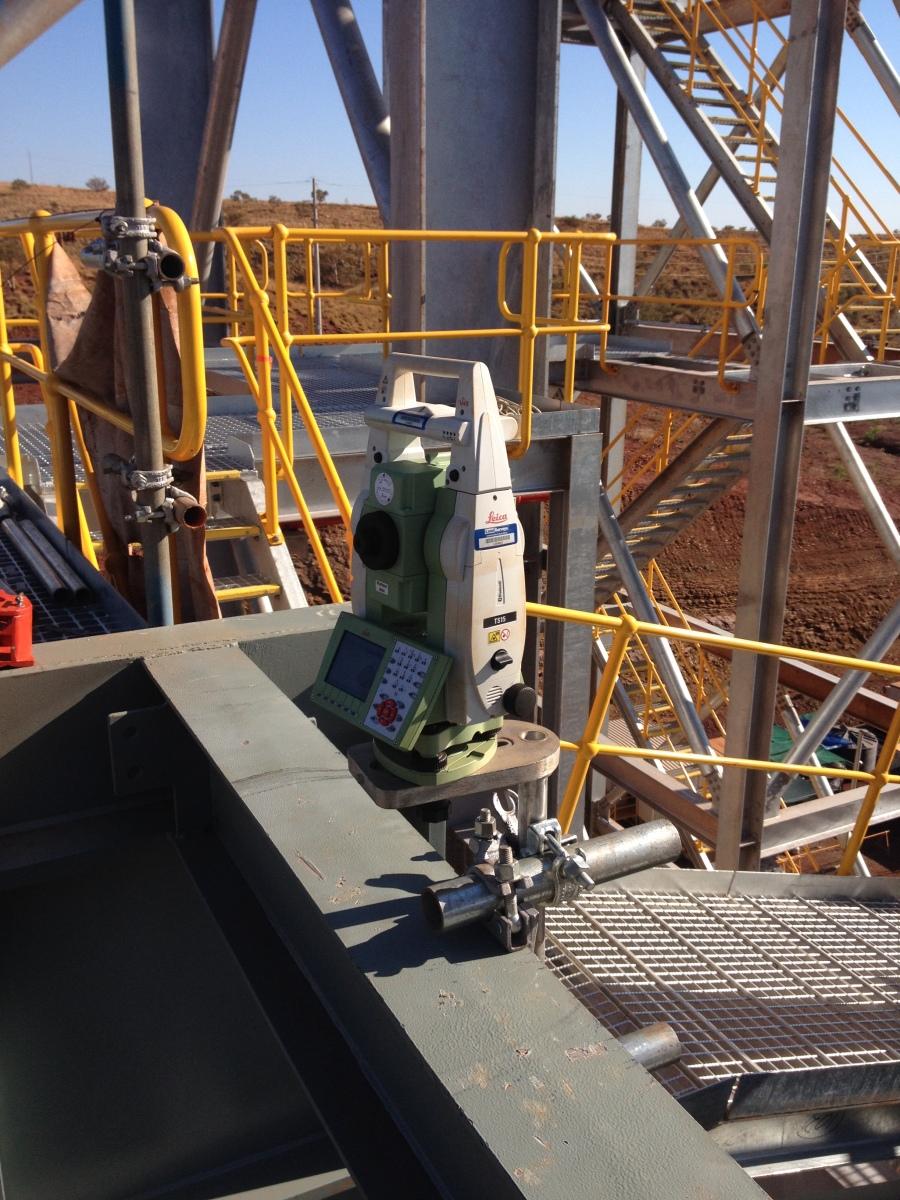 Survey of the conveyor