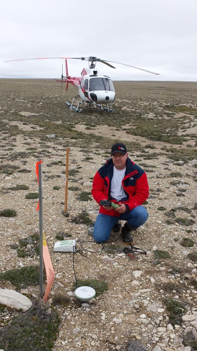 Boundary survey High Arctic