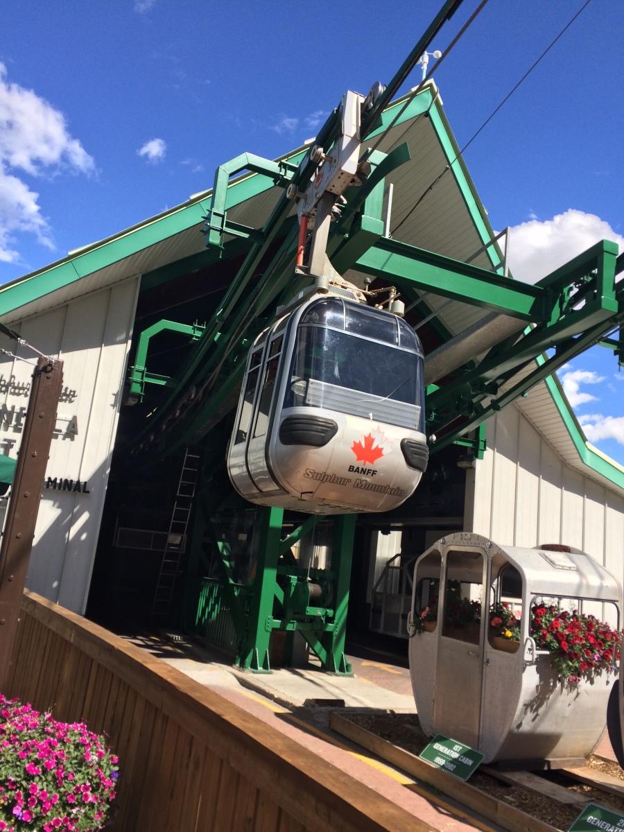 Bnaff Gondola rides Canada