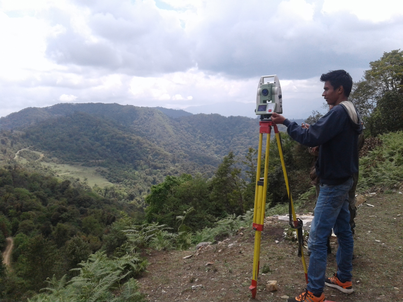 Surveying with ETS