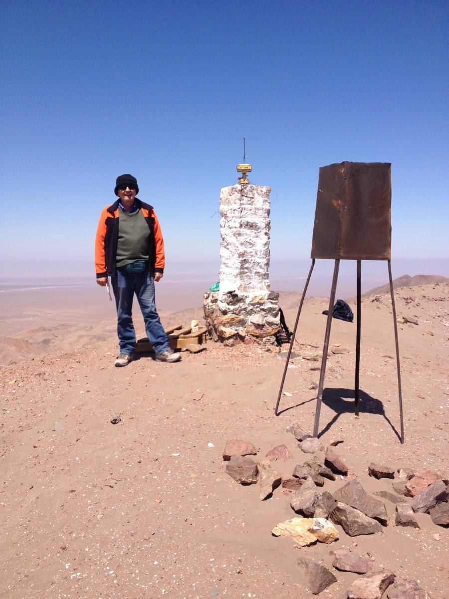 GNSS Station at Atacama Desert North of Chile